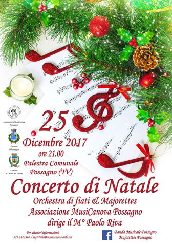POSSAGNO CONCERTO DI NATALE 2017