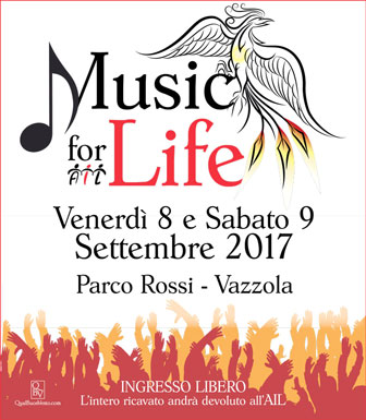 VAZZOLA MUSIC FOR LIFE